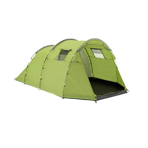 Eurohike Sendero 6 Easy To Pitch 6 Person Family Tent, Green, One Size