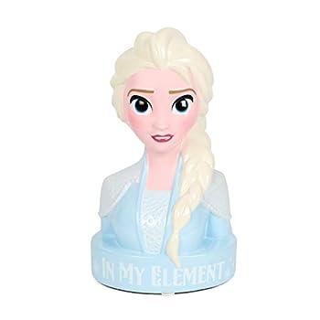Frozen Elsa Piggy Bank for Girls – Kids Ceramic Piggy Bank with Rubber Stopper