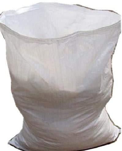 Confezione da 20 sacchi resistenti per detriti di lavori edilizi in polipropilene tessuto, 55,88 x 76,2 cm
