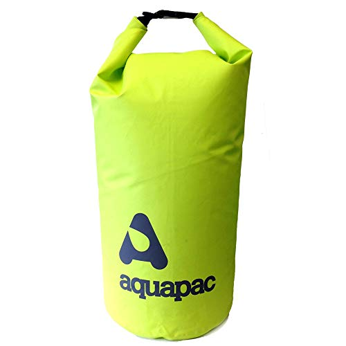 Aquapac Trockentasche TrailProof Drybag Wasserdicht, Acid/Grün, 37.0 x 13.0 x 5.0 cm, 7 Liter, 711