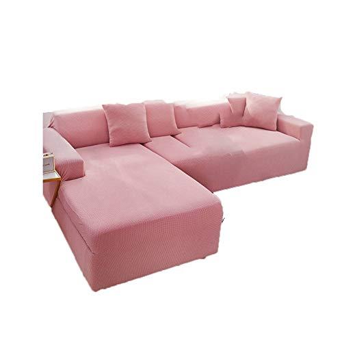 Super Stretch Schonbezug, Stretch Spandex Jacquard Sofabezug Antirutsch Waschbar Möbel Protector Für Schlafzimmer Wohnzimmer Büro-DREI Personen-G