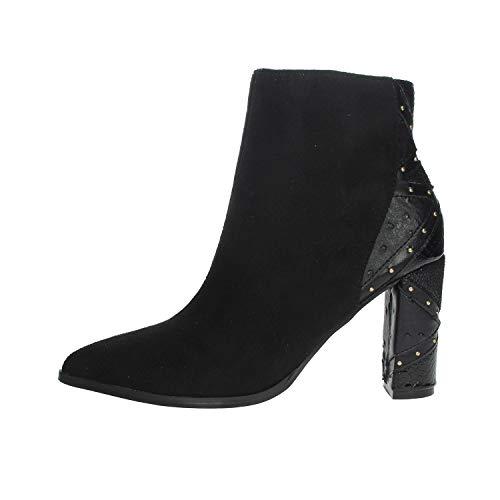 Menbur 21956 Bottines pour Femme Noir - Noir - 39