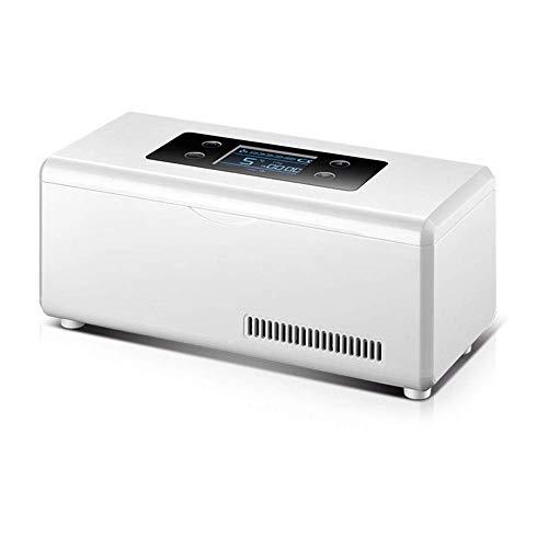 TUNBG Tragbarer Insulin-Kühlschrank für -Autos, Kühlbox für Medikamente mit konstanter Temperatur von 2-8 ° C, LCD-Display, USB-Ladekühlung, Kleiner Kühlschrank