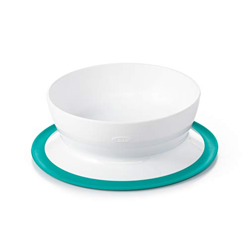 OXO Tot Stick & Stay Suction Bowl, Teal