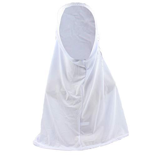ZEELIY Frauen Islamischen Muslimische Hijab Hijab Sofort Bequem Schal Tragen Turban Elegante Quaste Stola Stirnband