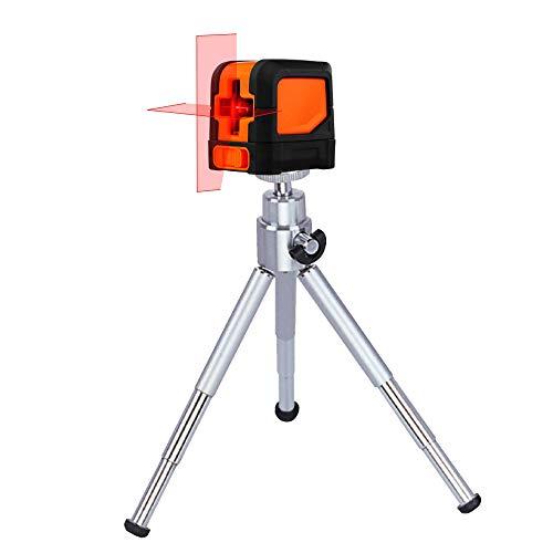 TronicXL TP10 Mini Tisch Tischstativ Baustativ Stativ für Lasernivelliergerät Kreuzlinienlaser Rotationslaser Linienlaser Baustellenlaser Laser zb für Einhell Bosch Dewalt Makita Flex Leica Stanley