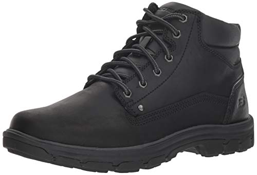 Skechers Men's Segment-Garnet Hiking Boot, BBK, 11 Medium US