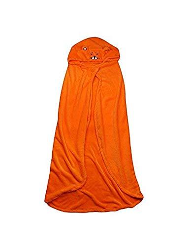 Snuter Himouto Umaru-Chan Kostüm Himouto Umaru-Chan Cosplay Cape mit Kapuze, Orange Mantel, Bademantel, Decke