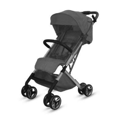 Knorr-baby 850660 S-Easy - Silla de paseo, color negro y gris