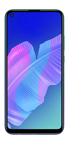 HUAWEI P40 Lite E - 64 GB Smartphone of 6.39 Punch FullView Display, 48MP AI Triple Camera, 4000 mAh Battery, Kirin 710, SIM Free Android Mobile Phone, 4 GB RAM, Dual SIM, Blue