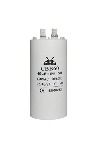 Condensatore del motore 450V 40 uF CBB60