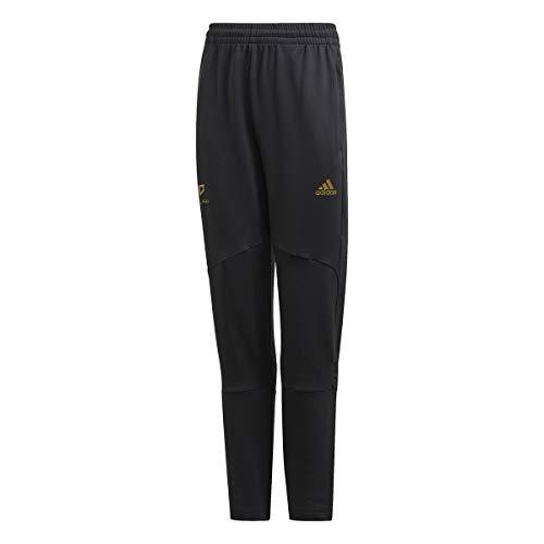 adidas B A.R. S Tap P Pantalones de compresión, Black/Gold Met, 1314 para Niños