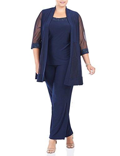 Dressvip -  Tailleur pantalone  - Donna rosa Image