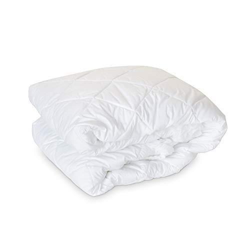 Luxury Eddie Bauer 300 TC Hypoallergenic Premium Cotton Mattress Pad - Medium Weight - Made in the USA (King)
