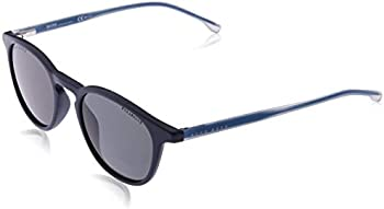 Hugo Boss Havana 50mm Slim Square Mens Sunglasses