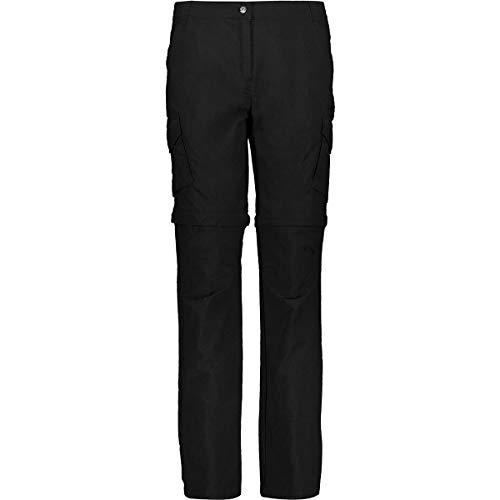 CMP 30T6556, Pantalone Donna, Nero, 44