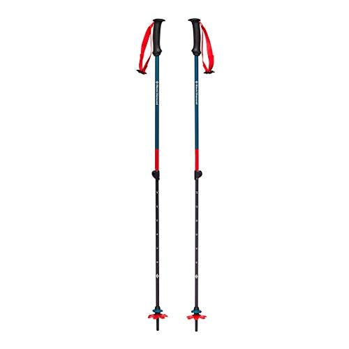 Black Diamond First Strike Trek Poles Bâtons de randonnée et de Ski pour Enfant Bleu Fjord Taille Unique
