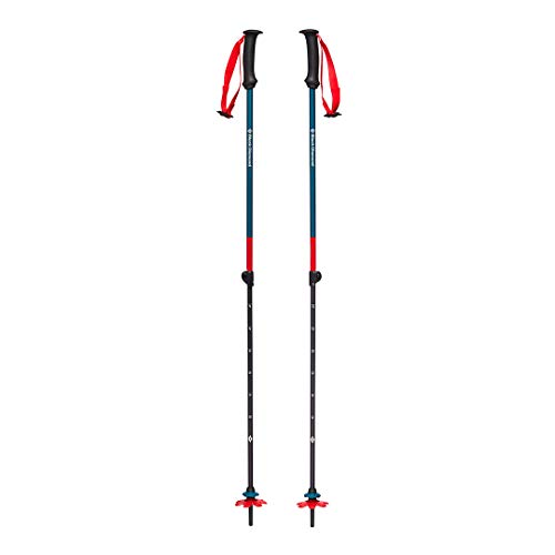 Black Diamond First Strike Trek Poles - Bastoncini da trekking e sci per bambini, colore: Blu Fjord