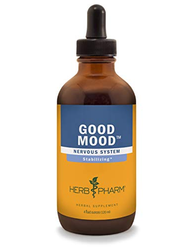 Herb Pharm Good Mood Liquid Herbal Formula with St. Johns Wort for Healthy Emotional Balance - 4 Ounce