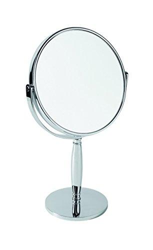 Gerson Miroir Chromé sur pied Grossissant x 7 Diamètre 15 cm Haut 26,5 cm