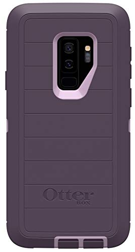 OtterBox Defender Series Rugged Case for Samsung Galaxy S9 PLUS - Case Only - Non-Retail Packaging - Purple Nebula - with Microbial Defense