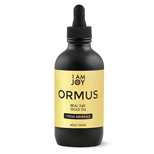 I Am Joy: Ormus Gold Oil Monoatomic Helps to Decalcify Pineal Gland, Repair DNA, Increase Manifestation Speed - Rich with Minerals Platinum, Iridium Using Non Chemical Solvent Extraction 4oz