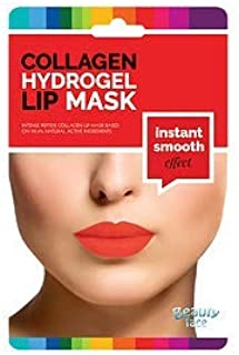 BEAUTY FACE - Collagen Lips Mask Instant Smooth - Lips and Contour Patch - Smoothing and elasticising effect