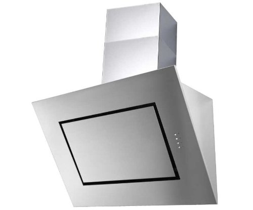 Vertikale Edelstahl-Wandhaube, 90 cm breit Termikel Attica 90