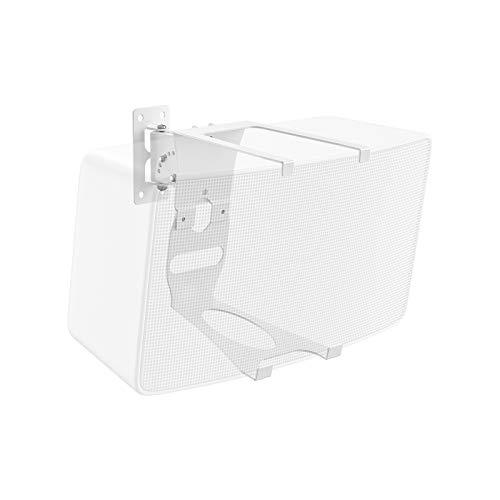 Speaker Wall Mount for Sonos Play 5 Gen 2 Multiple Adjustments Mounting Bracket for Sonos Play:5 Speaker, White