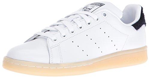 adidas s Stan Smith Formadores de Cuero, 9 B (M) de EE.UU. Mujer Blanco 7.5 Reino Unido