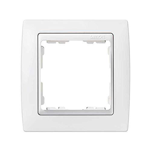 Simon - 82610-30 marco 1 elemento s-82 monocolor blanco nieve Ref. 6558230159