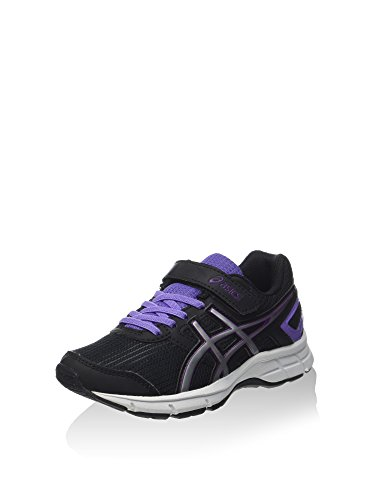 Asics Zapatillas de Running Pre Galaxy 8 PS Negro/Lila/Plata EU 33.5 (US 2)