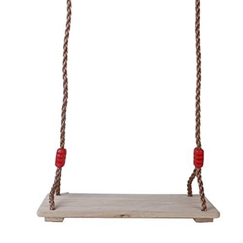 JINQIANSHANGMAO - altalena all'aperto da giardino, altalena con legno, set da gioco all'aperto, altalena per bambini economici trampolino