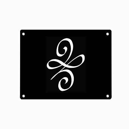 THESHUAI Celtic New Beginnings Symbol Popular 12' X 8' Metal Tin Sign,Vintage Style Art Wall Ornament Coffee & Bar Decor Wall Decorative Sign