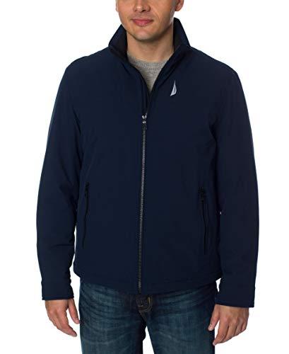 Nautica Men's Lightweight Stretch Golf Jacket, Deep Navy, XL