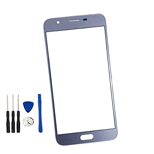 Front Screen Outer Glass Lens Replacement for Galaxy J7 2018 SM-J737 SM-J737U/J7 Crown/J7 Top/J7 Star J737T J737A/J7 Refine 2018 SM-J737P/J7 LTE-A J737P/J7 Aero/J7 V J737V (No LCD Digitizer) Blue