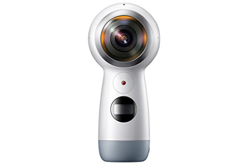 Samsung Gear 360 (2017 Edition) Real 360° 4K VR Camera (US Version with Warranty)