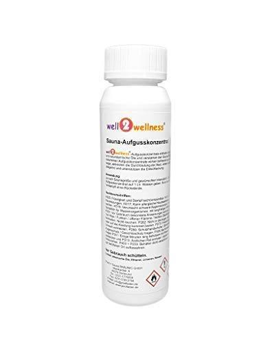 Saunaaufguss - Konzentrat/Saunaduft - Konzentrat 125 ml - über 180 Top-Aromen zur freien Auswahl (Eis-Kiwi)