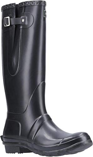 Cotswold Mens Windsor Tall Wellington Boot Black Size UK 9 EU 43