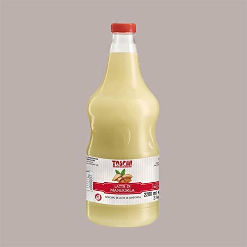 Leagel Srl 3 kg Sirope de leche de almendras Toschi para helado Granizado Coctel Pastelería