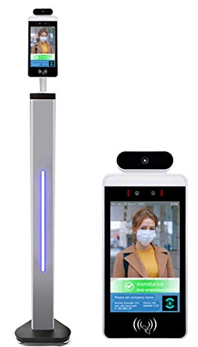 Wifi sin contacto de la cara del reconocimiento de la temperatura del cuerpo de la medida infrarroja automática del analizador termal de