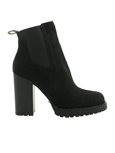 Hogan Luxury Fashion Damen HXW5420DH00CR0B999 Schwarz Wildleder Stiefeletten | Herbst Winter 20