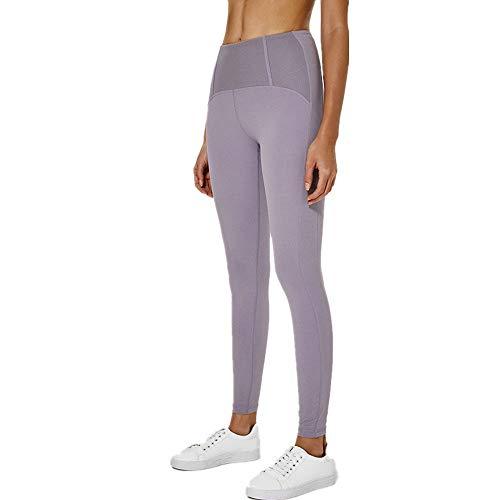 PPPPA Frauen Yogahosen hohe Taille Bauch Kontrolle Übung Laufen Stretching Yogahosen mit Hüften Engen Pfirsich Mädchen Engen elastischen Stretch dünne Yogahosen Laufen Sport Training Fitness
