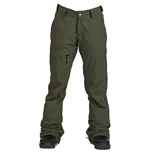 Nikita Damen Snowboard Hose White Pine Stretch Pants