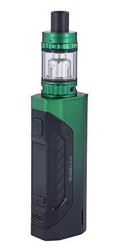 SMOK Rigel Mini E Zigaretten Set 80W TFV9 Mini Clearomizer, Schwarz-grün