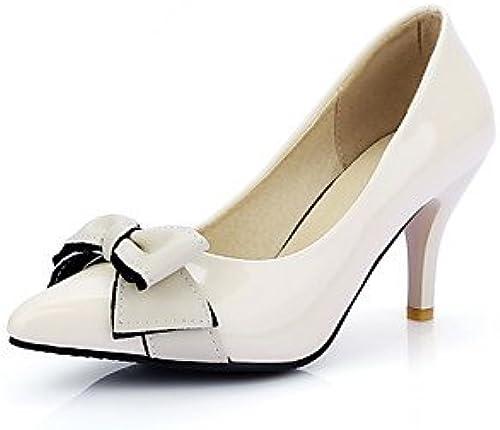 Zormey Chaussures Femmes Talon Chaussures Talons Office &Amp &Amp Carri¨¨re Noir Rose Beige Beige Us8   Eu39   Uk6   Cn39