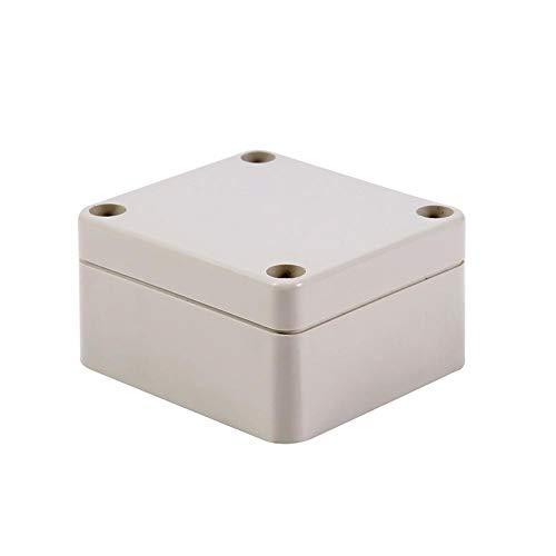 Keenso Wasserdichte elektrische Anschlussdose Outdoor elektrische Gehäuse Box IP65 Anschlussdosen Kabelverbinder ABS Kunststoff Projekt Box Gehäuse Fall(65 * 60 * 35mm)