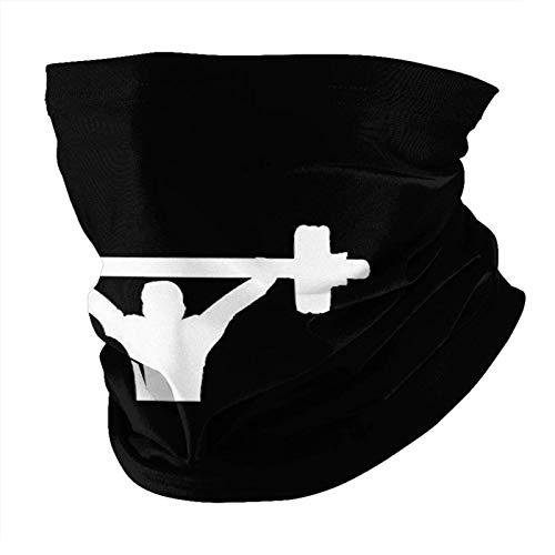 TUCBOA Magic Headband,Barbell Fitnes-S Head Wrap, Protectores Faciales Deportivos De Moda para Escalada En Gimnasio,25x50cm