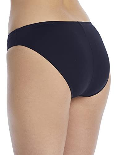 La Blanca Women's Island Goddess Solid Hipster Bikini Swimsuit Bottom, Black, 12