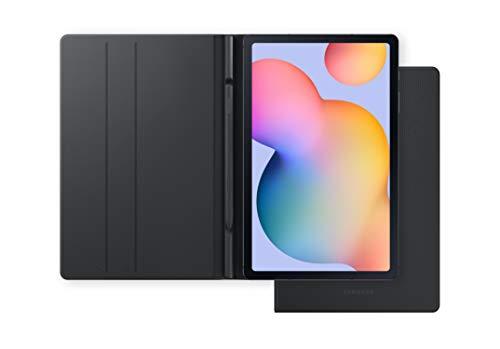 """Samsung Galaxy Tab S6 Lite - Tablet de 10.4"""" (4G, Procesador Exynos 9611, 4 GB RAM, 64 GB Almacenamiento, Android 10), Color Gris + Book Cover, Gris"""